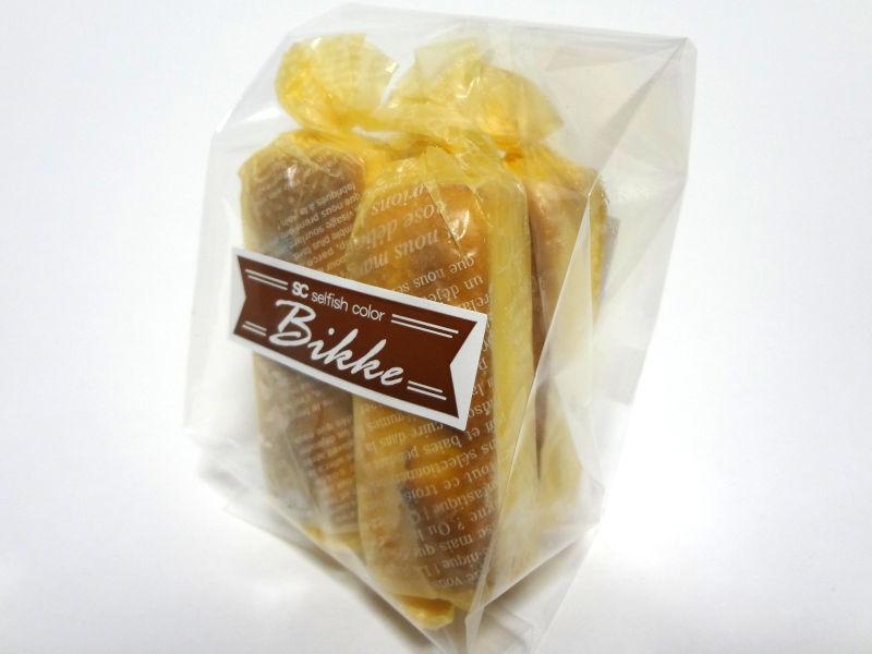 低糖質ベイクドチーズケーキのパッケージ