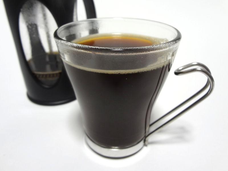 抽出できたコーヒー