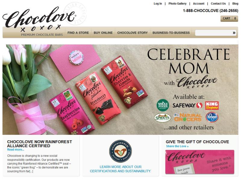 Chocoloveのサイト