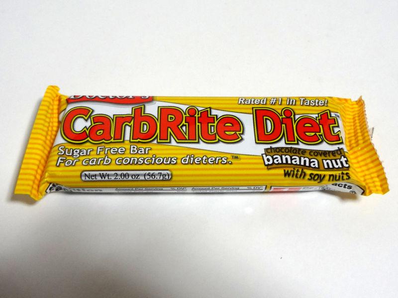 Doctor's CarbRite Diet  バナナ・ナッツのパッケージ