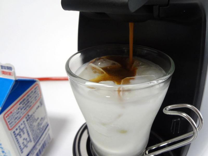 アイスコーヒーブレンドを抽出