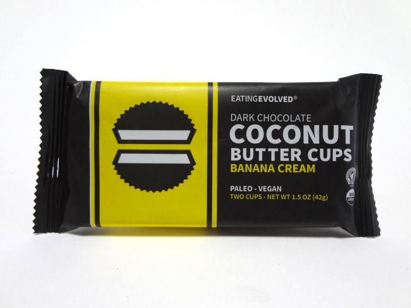 バナナクリームのパッケージ