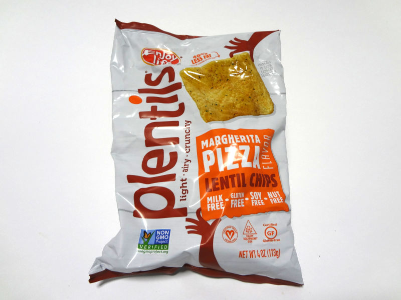 マルガリータピザ味のパッケージ