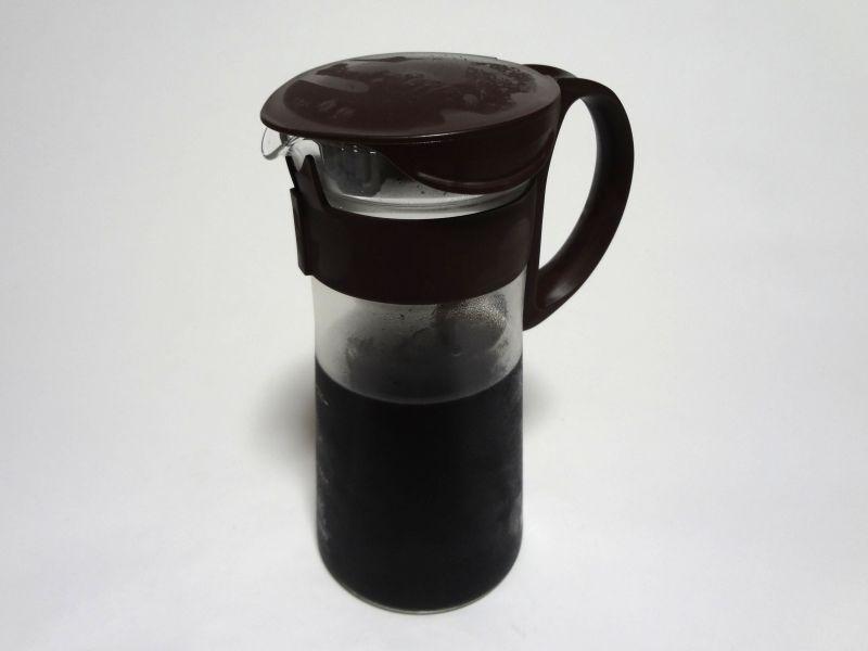 水出しコーヒーの抽出完了