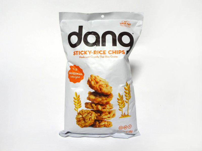 Dang Foods ライスチップス オリジナルのパッケージ