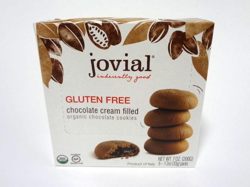 Jovial グルテンフリー チョコレートクッキーの箱