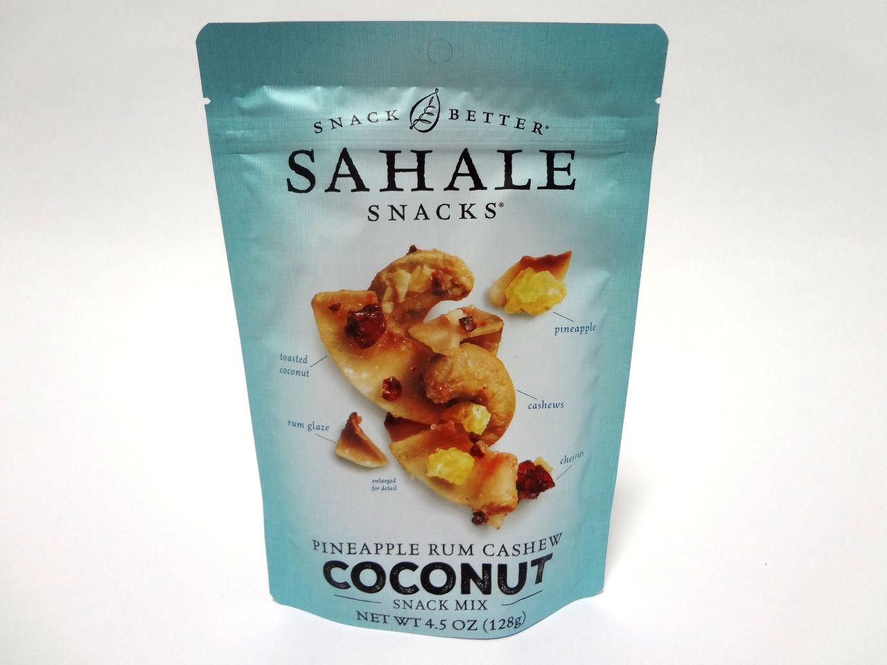 パイナップル ラム カシュー ココナッツのパッケージ