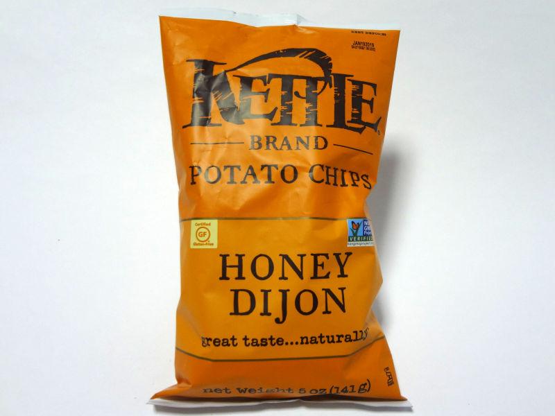Kettle Foods ポテトチップス ハニーディジョンのパッケージ
