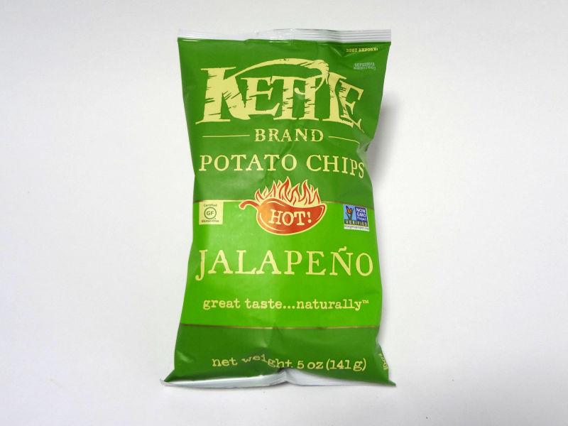 Kettle Foods ポテトチップス ハラペーニョのパッケージ