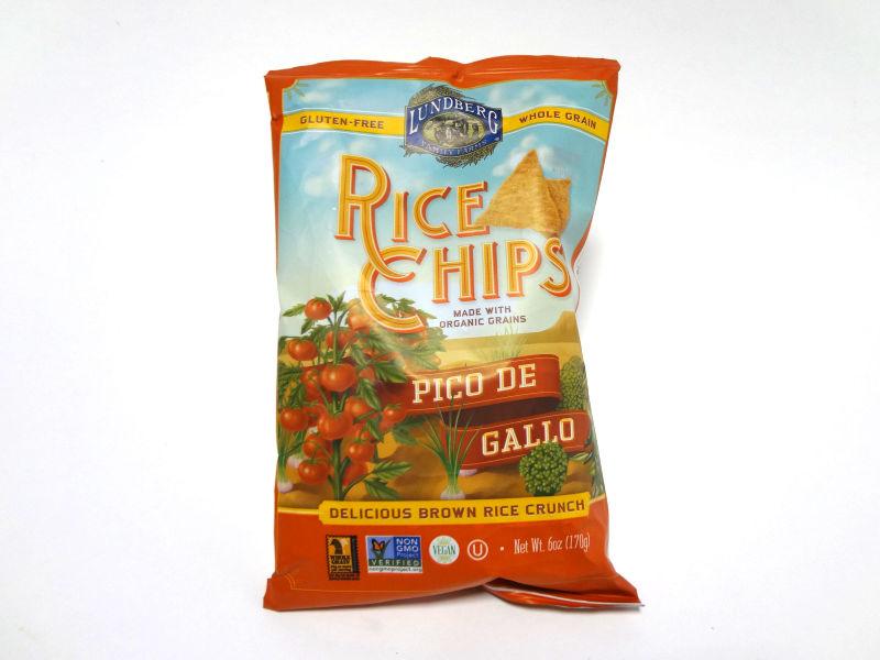 玄米チップス ピコデガロのパッケージ