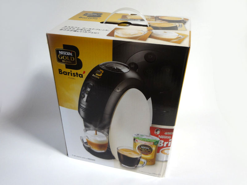 ネスカフェ ゴールドブレンド バリスタ PM9631の外箱