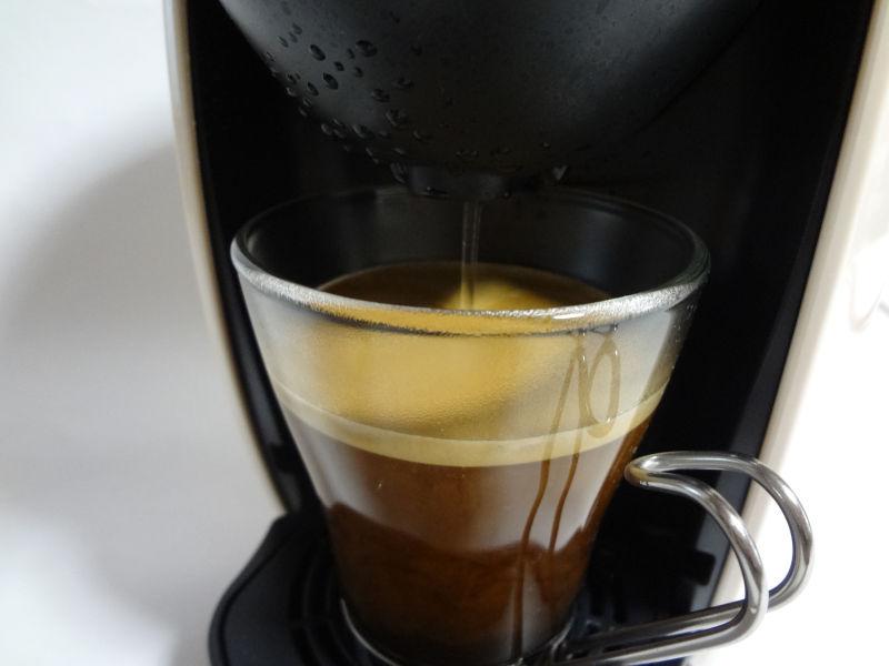 ブラックコーヒーメニュー抽出終盤