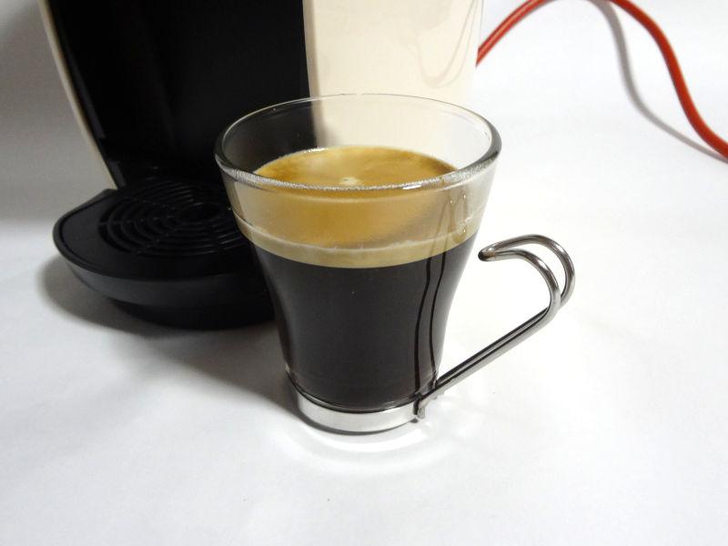 ブラックコーヒー抽出完了