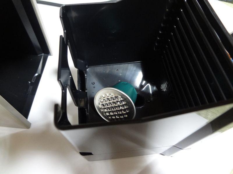 自動排出されたカプセル