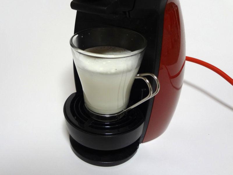 ミルクカプセルを抽出